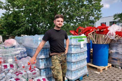 280 Tonnen Hilfe jeden Tag